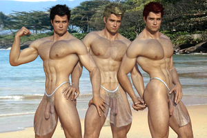 Hunks In Loincloth by KevIzz