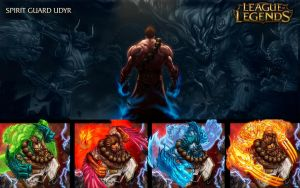 Spirit Guard Udyr - League Of Legends by Tonywash