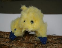 Joltik plush side 1 by Zed-Harmonia