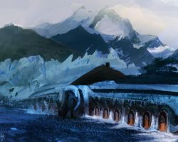 Ice fort by JoshHutchinson