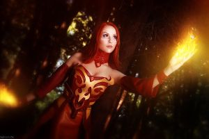 DotA 2 - Lina - Burn a path! by MilliganVick