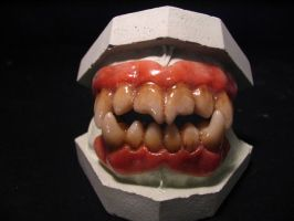Monster Dentures by CrisAlexMUA