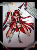 Copic Elesis by Tiha90
