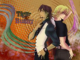 Tiger and Bunny 1920x1440 by Sarkanybaby