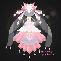 Mega Diancie by pptSnivy