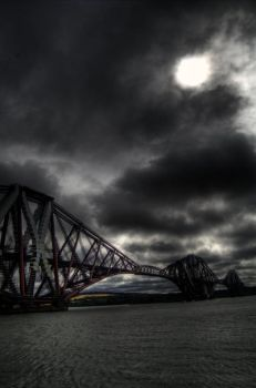 forth bridge by mbrkid