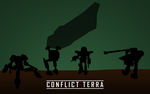 Conflict Terra Wallpaper by SanadaUjiosan