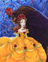 Beauty and the Beast - Glass by aimeekitty
