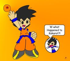 chibi goku and vegeta by Redstar212
