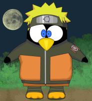 tux shippuden with background by Ingmarov