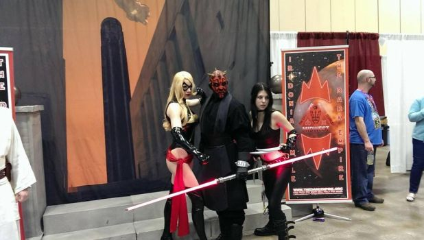 Maul Gets The Girls - Kansas City Planet Comicon 2 by W2BSuperman