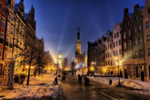 Gdansk - Old Town HDR by fishcrosser-pl