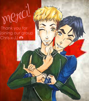 Chris-x-JJ Thank You Banner by MariusOfTheSea