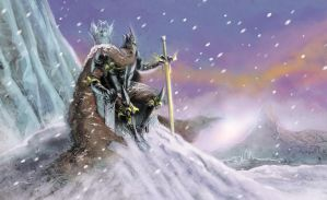 Warlord Of The Frozen Planes by RodGallery