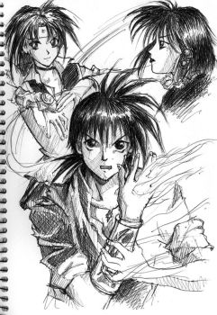 Flame of Recca by khidirss