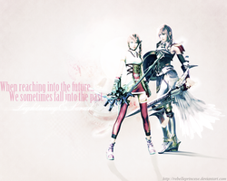 'My Dear Serah...' by RebellePrincesse