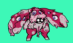 SHAMBLING PILE OF DOG APPROACHES by HedgehodgeMonster
