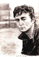 Teddy boy, John Lennon by goshnessmaggy