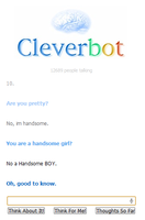 What cleverbot told me. by miguelm-c