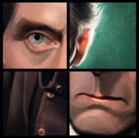 Peter Cushing details by Cowboy-Lucas