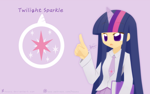 Weekly art#26 Twilight Sparkle by HowXu