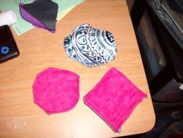 Fabric Coasters by Isotoperuption
