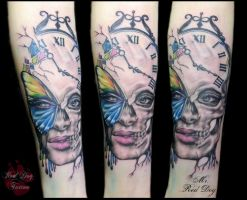 Kine's tattoo by Reddogtattoo