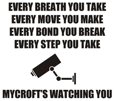 Mycroft is watching you by ConsultinDetective