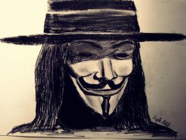 V  V for Vendetta by aiglemkf