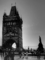 Entrance Tower at Charles Bridge01 by abelamario
