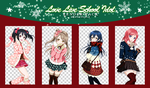 Pack Love live xmas by MyRiotWorld