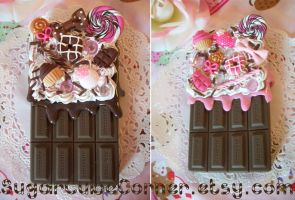 Chocolate Decoden iPhone 4 Cases by lessthan3chrissy
