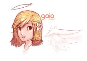 Gaia Headshot by scriptKittie