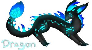 Dragon Adoptable :CLOSED: by JazuNeon