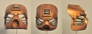 Steampunk Hau by ModaltMasks
