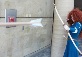 Brave: Merida Ready, Aim, Fire! by TresWildCosplay