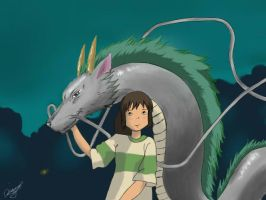 Spirited Away by xDiamonx