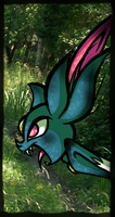 Angry Sneasel. by Mesmeromania