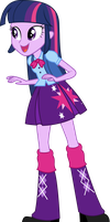 Twilight Sparkle EqG by PaulyVectors