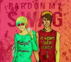#Pardon my SWAG. by Neo-N