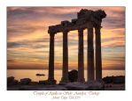 The Temple of Apollo in Side 2 by thespis1