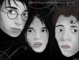 Harry Potter Vector by o0tingeling0o