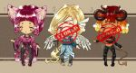 AUCTIONS OPEN - Set of 3 adoptables - ONE LEFT by Aldric-Cheylan