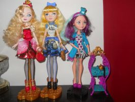 Meet The Ever After High Girls by MaddieHatter3337