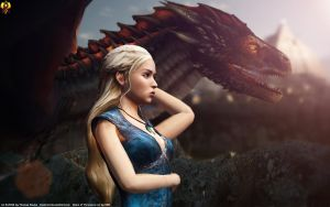 Mother of Dragons by Euderion