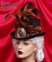 Steampunk Clockwork Top Hat by ArtOfAdornment