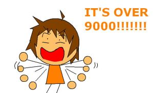 IT'S OVER 9000 by chimchim892