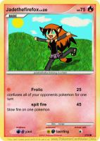 jadethefirefox pokemon card by Jadethefirefox