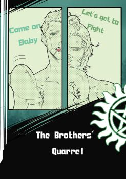 The Brothers quarrel Comic Cover by Lanlimes