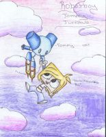 ROBOTBOY and TOMMY by TheDocRoach